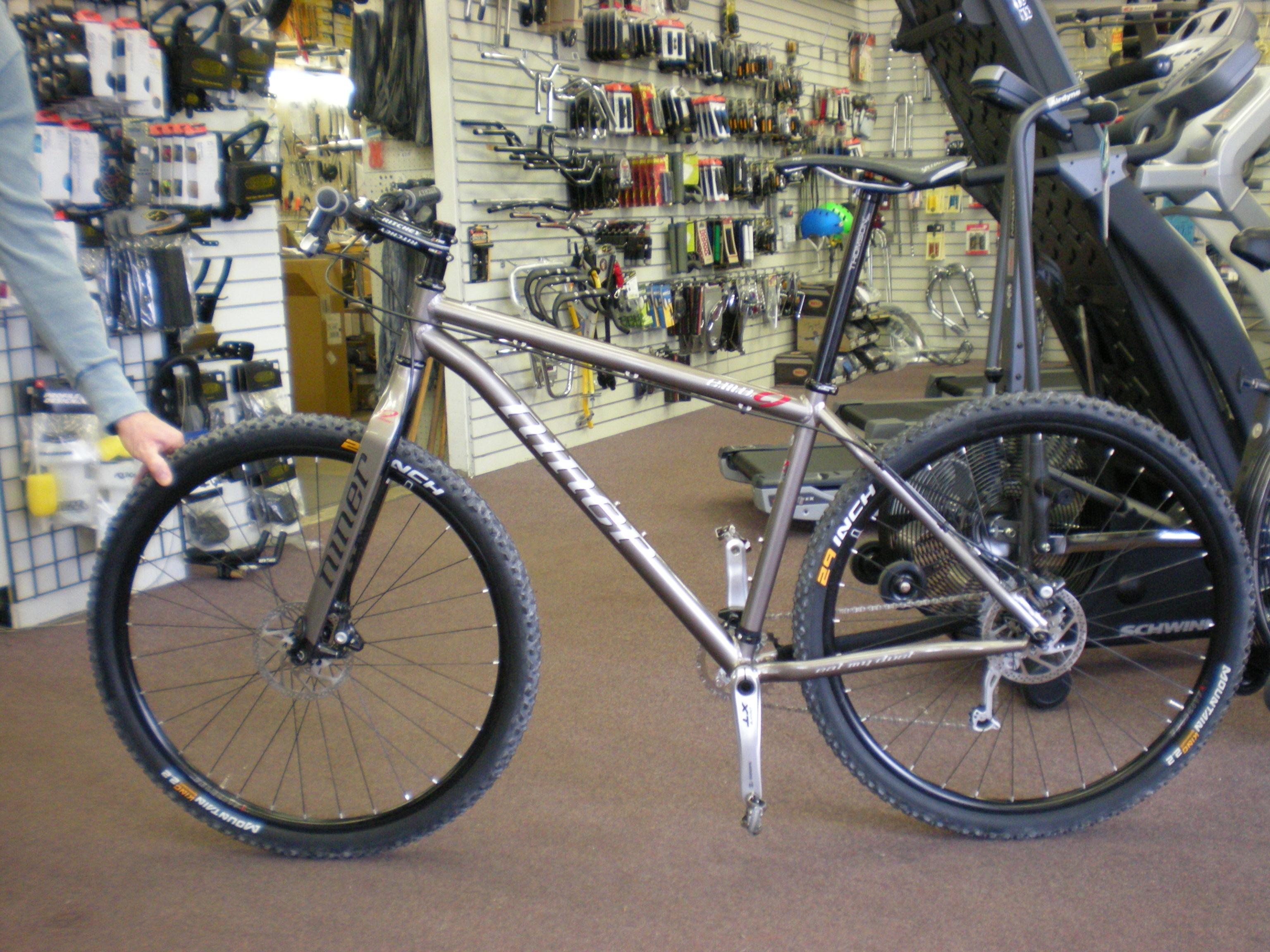 Doug Baker\'s new Niner | Alger Bikes