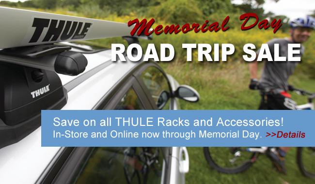 Thule road trip sale at Alger Bikes