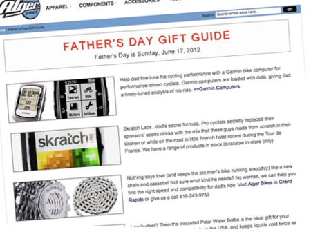 Alger Bikes Father's Day Gift Guide