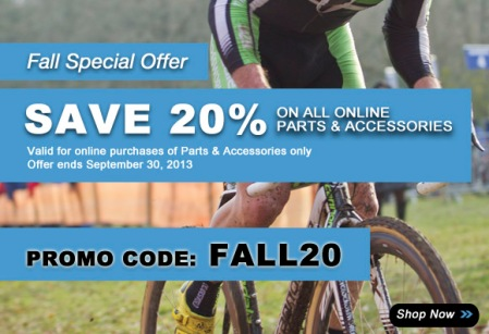 Save 20 at algerbikes