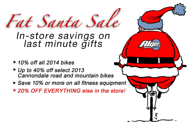 Fat Santa Sale at Alger Bikes