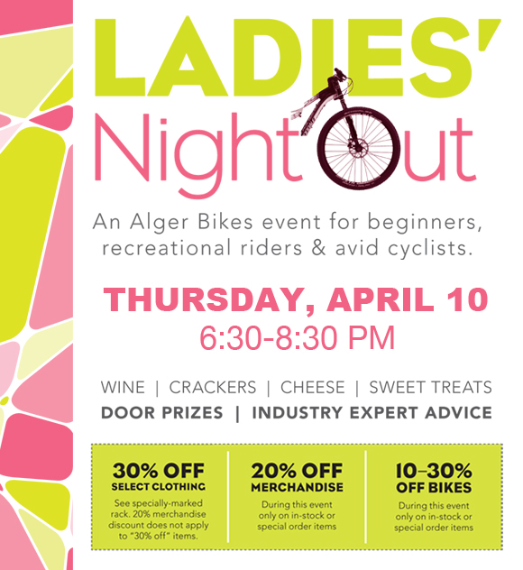 Alger Bikes Ladies Night Out